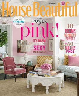 House Beautiful March 2011.